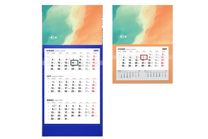 kalendarz plaski