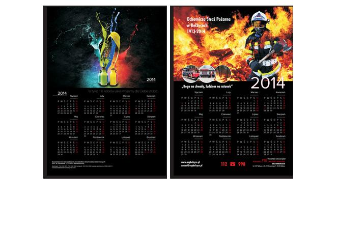 kalendrze planszowe